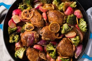 Paleo and Keto Sheet Pan Chicken