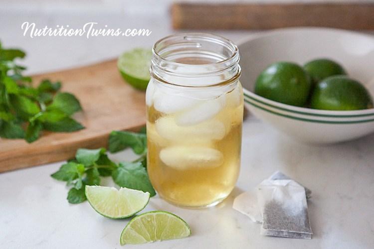 Green Tea Lime Mine Detox Drink